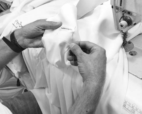 שמלת כלה קלאסית חלקה ונקיה - ואדים מרגולין